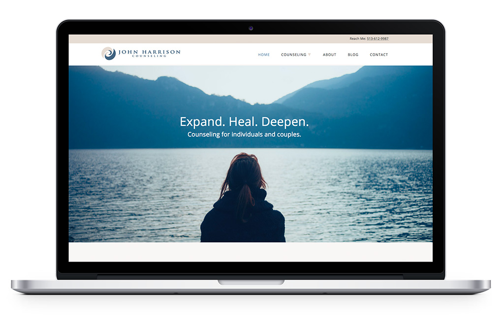 kat love therapist website design and writing expert