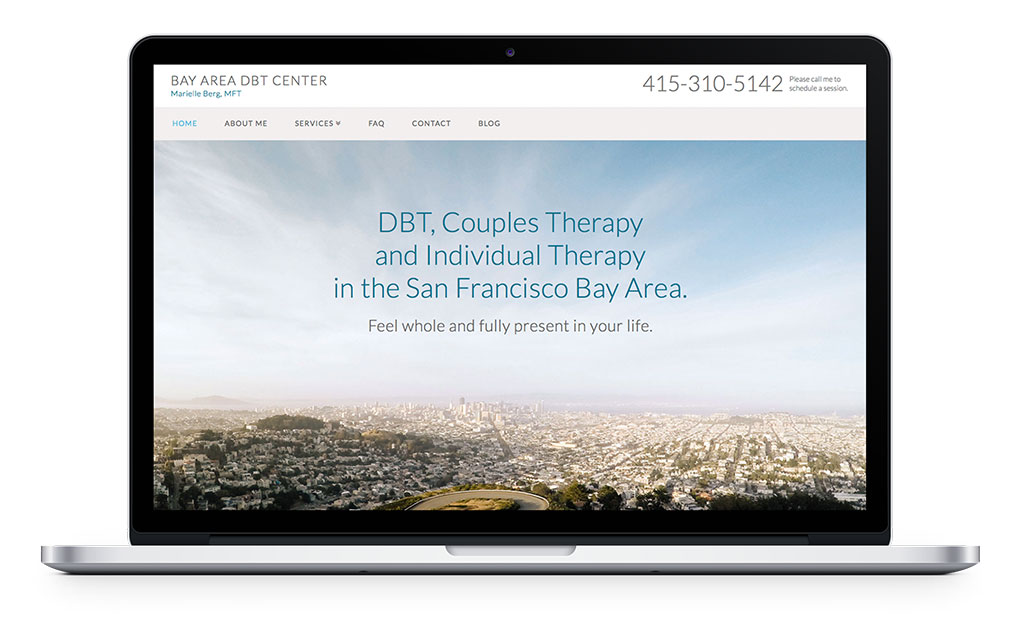 DBT Psychotherapy Website Design