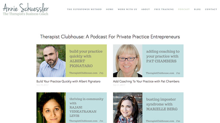 best podcasts for building your private practice