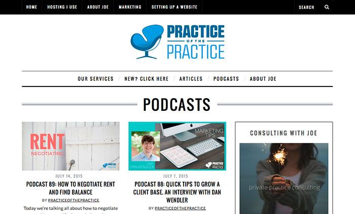 Joe Sanok Practice of the Practice Podcast