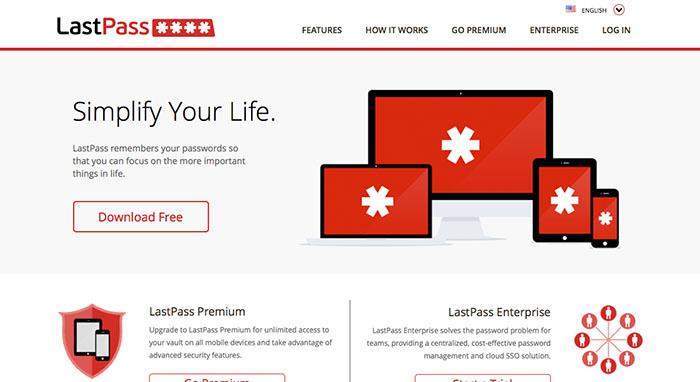 Lastpass app - mobiwoz