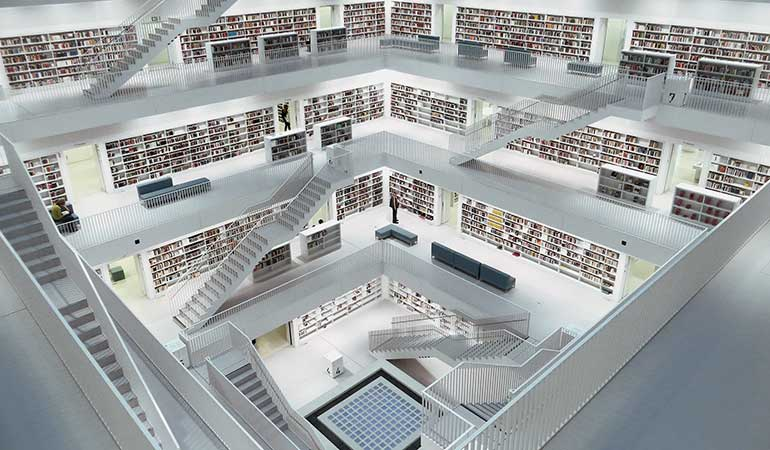Content Marketing Like A Library Of Helping Clients