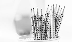 Pencils for writing your social media content